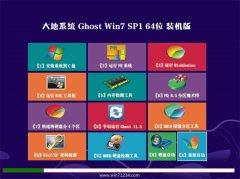 大地系统Windows7 完整装机版64位 2021.04